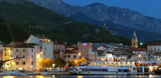 Baska voda, cruising region Central Dalmatia