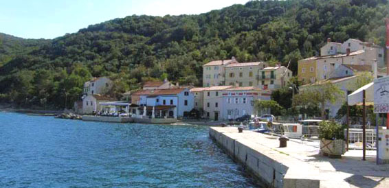 Valun, Cres Island, cruising region Istria and Kvarner