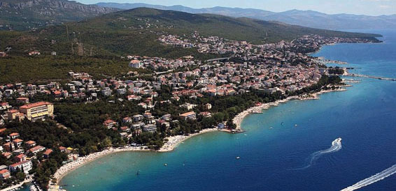 Crikvenica, cruising region Istria and Kvarner