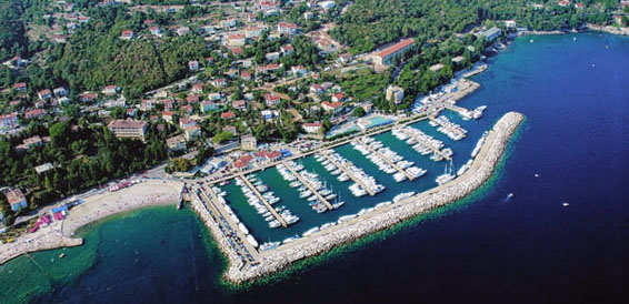 Icici, cruising region Istria and Kvarner