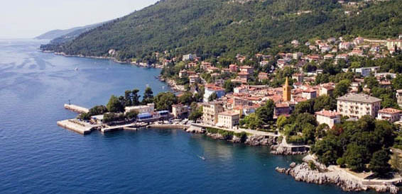 Lovran, cruising region Istria and Kvarner