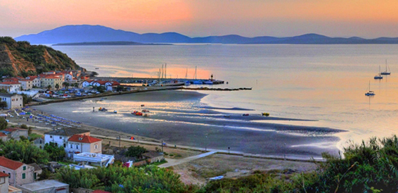 Susak - Island, cruising region Istria and Kvarner