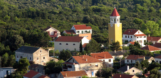 Molat Island, cruising region Northern Dalmatia